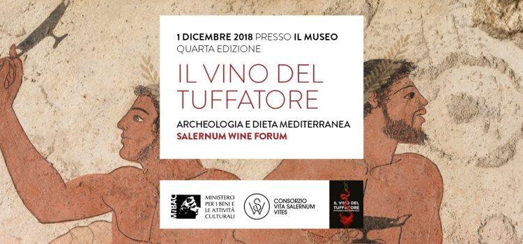SALERNUM WINE FORUM – Il vino del Tuffatore tra archeologia e dieta mediterranea